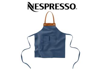 Nespresso Barista Collection Apron Denim Coffee Cafe Bib