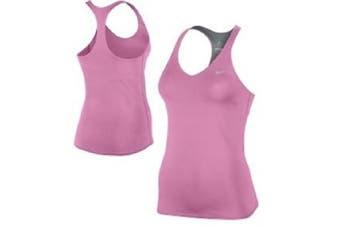 NIKE Womens Advantage Solid Dri Fit Tennis Tank Top Performance 604679 New