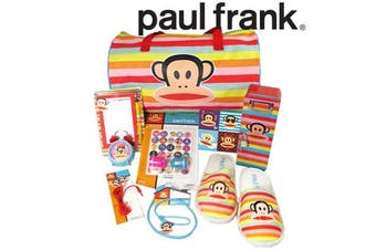 Paul Frank Showbag Official Licensed Show Bag Bag, Slippers Gift + more