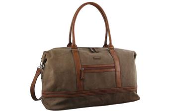 Pierre Cardin Canvas Overnight Bag Business