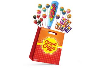 Chupa Chups Kids Showbag Candy Sour Confectionery Show Bag Official Licensed