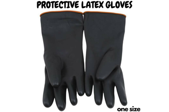Latex Gloves Rubber PPE Industrial Anti Chemical Acid Heavy Duty