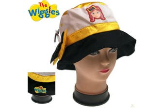 THE WIGGLES Emma BUCKET HAT w Bow Children's Kids AUTHENTIC LICENSED Girls