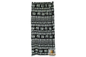 Women's MAXI SPLIT SKIRT Long Beach Boho Hippie Harem Bohemian Travel