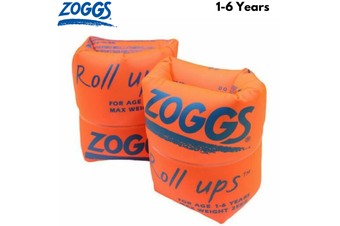 ZOGGS Roll Ups Stage 2 Children's Swimming Learn to Swim Kids Water Arm Bands Inflatable Rings