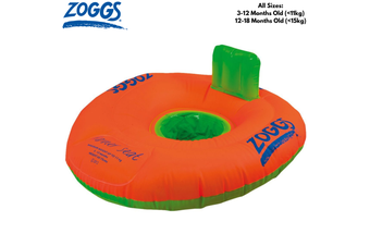 ZOGGS Stage 1 Trainer Seat Children's Swimming Floatie Zoggy Kids Learn Training Inflatable