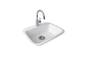 Seima Eva 600 Laundry Sink Inset White 1T 191501