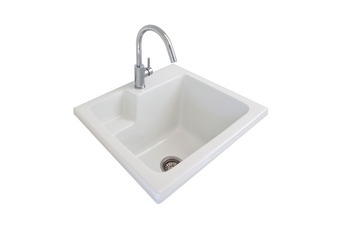 Seima Eva 620 Laundry Sink Inset White 1T 191505