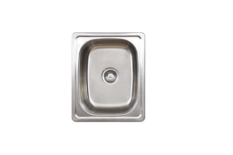 Seima Acero 35Lo Laundry Sink Two Taphole with Overflow 191610