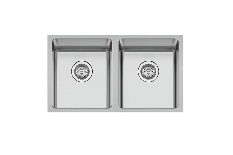 Ucore Sink Double Bowl Undermount Stainless Steel AUK-EX750D