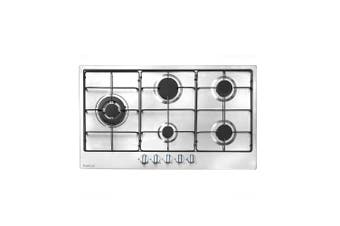 Artusi Cooktop 90cm Gas Hob With Enamel Trivetts Stainless Steel CAGH90ETX