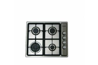 Blanco Cooktop (GAS) 600mm Stainless Steel CG604WXFFCP
