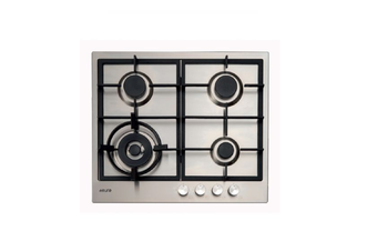Euro Appliances Cooktop Gas & Wok Slimline 60cm Stainless Steel E60CTWX