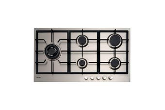 Euro Cooktop Gas 900mm Stainless Steel E90CTWX