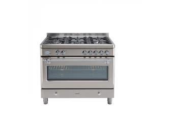 Euro Appliances Freestanding Oven 90cm Stainless Steel Royal Chiantishire ECSH900SX