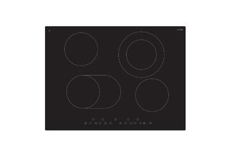 Euro Appliances Cooktop Ceran Touch Electric 70cm Black ECT70C6