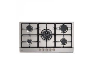 Euro Cooktop (Gas) 900mm Stainless Steel ECT900GX