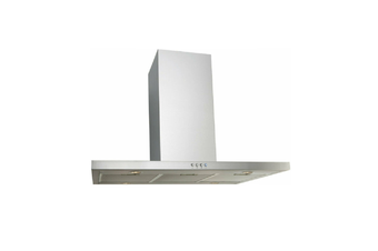 Euro Appliances Rangehood Island Canopy 90cm Stainless Steel EP900ISX2