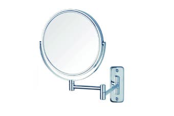 Thermogroup Ablaze Magnifying Mirror Non Lit Wall Mount 1x-10x Chrome R10SM