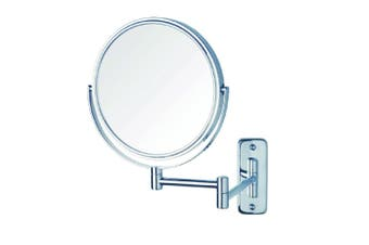 Thermogroup Ablaze Magnifying Mirror Non Lit Wall Mount 1x-5x Chrome R16SM