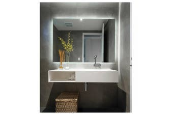 Thermogroup Ablaze Mirror Premium Back-Lit SS Range Mirror 900mm x 750mm SS759C