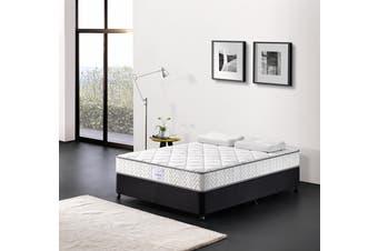 Breeze Mattress Bed Pocket Spring Comfort Firm 24cm High Density