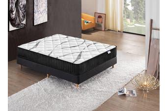 Breeze Premium Firm Pocket Spring Mattress 26cm High Density Foam (Queen)