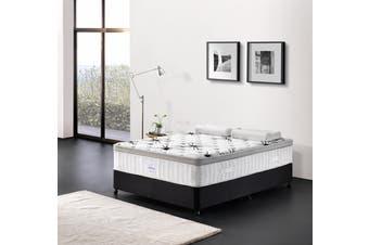 Breeze Mattress Bed 7 Zone Cool Gel Infused Memory Foam Euro Top 34cm