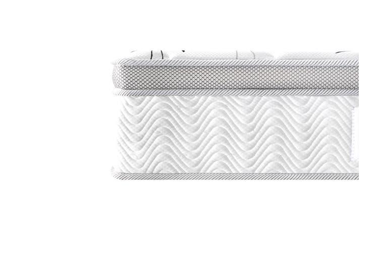 Breeze Mattress Bed 7 Zone Cool Gel Infused Memory Foam Euro Top 34cm (King)