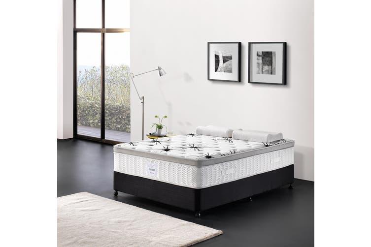Breeze Mattress Bed 7 Zone Cool Gel Infused Memory Foam Euro Top 34cm (Queen)