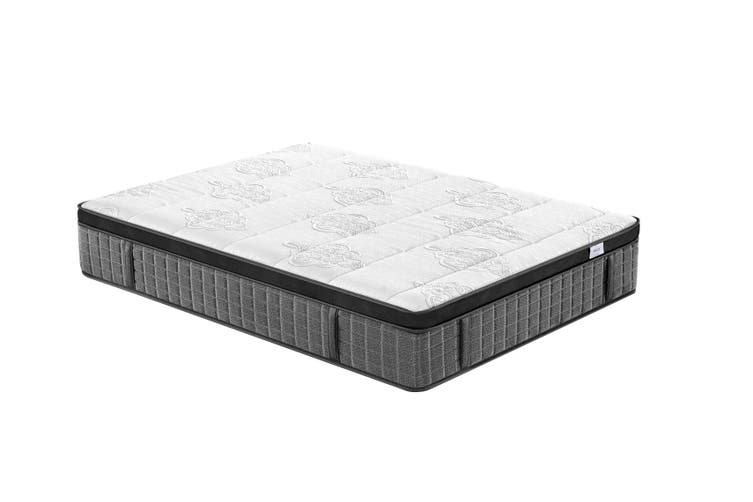 Breeze Supreme Cool Gel Infused Memory Foam 7 Zone Euro Top Pocket Spring Mattress 36cm (Queen)