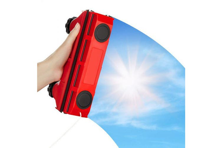The Glider S-1 Magnetic Window Cleaner For Single Glazed Windows Up To 8 Mm Window Thickness.