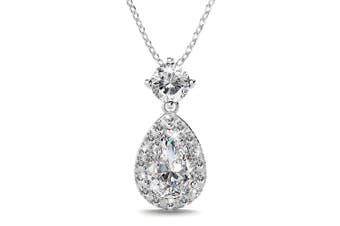 Mystique Bloom Necklace Clear