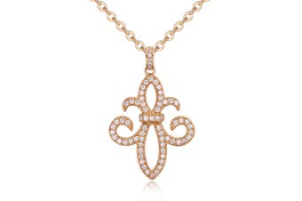 Enchant Necklace-Gold/Clear
