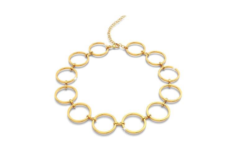 Open Circle Choker Necklace