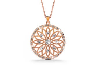 Flower of Life Intricate Pendant Necklace
