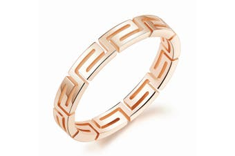 Linear Dress Ring-Rose Gold