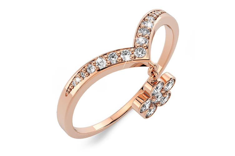 Love Rosa Ring Size US 7