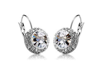 Manichi Earrings Embellished with Swarovski crystals