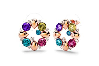 Venus Earrings Embellished with Swarovski crystals