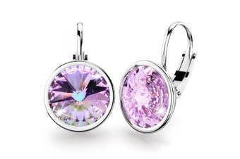 Kassandra Crystal Drop Earrings Embellished with Swarovski crystals