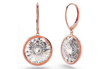 Lux Glow Drop Earrings Embellished with Swarovski crystals