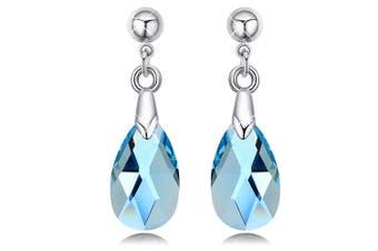 Elmina Crystal Drop Earrings Embellished with Swarovski crystals