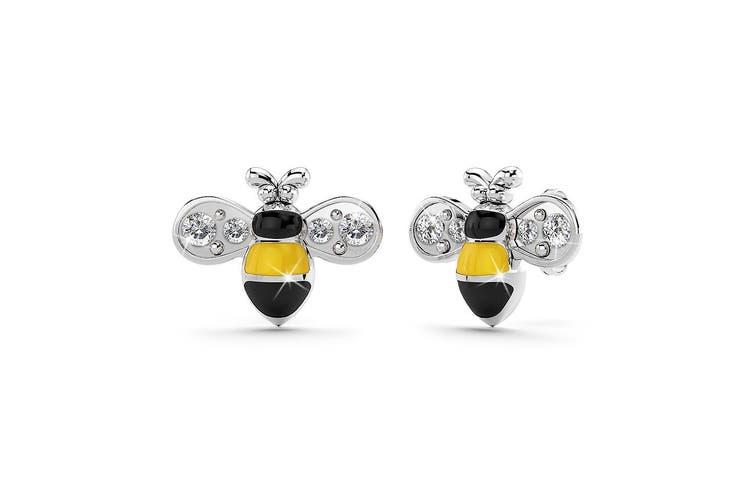 Bumblebee Crystal Earrings