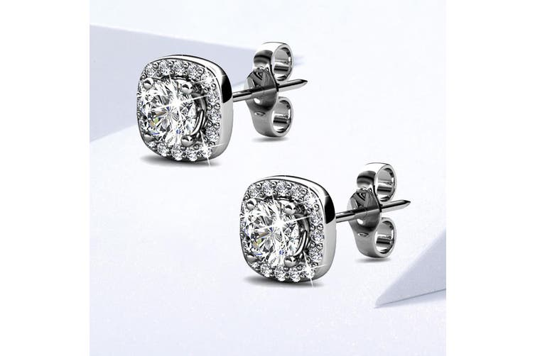 Lux Studs Embellished with Swarovski crystals