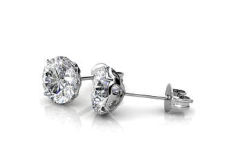 Star Electra Stud Earrings 6mm Embellished with Swarovski crystals