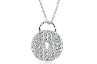 Fancy Padlock Necklace