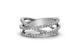 Soulmate Ring Embellished with Swarovski crystals