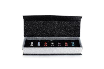 7 Day Earrings Set Embellished with Swarovski crystals