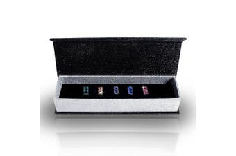 5 Day Earrings Set Embellished with Swarovski crystals